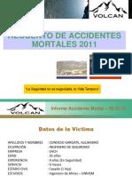 Accidentes Mortales Volcan 2011