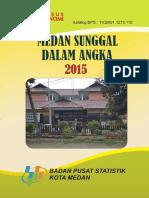 Medan Sunggal Dalam Angka 2015