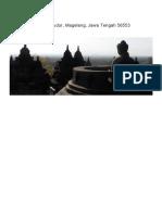 Borobudur, Yogyakarta - Utiket