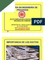 Capítulo 1 Fabricación e Instalación de Tuberia de Proceso