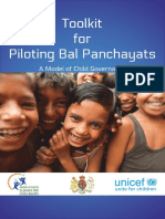 Bal Panchayats Training Manual