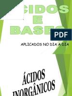 Acidos e Bases Aplicações