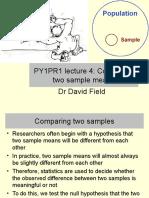 PY1PR1 Stats Lecture 4 Handout
