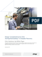 XAXD Disaster Recovery