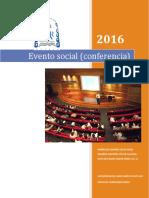 Conferencia Evento social Final