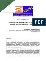 Globalización Comunicación Sector Turismo
