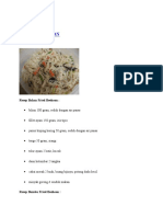 Tugas Fdc Resep Masakan