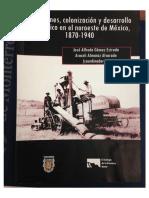 Inversiones, Colonizacion y Desarollo Economico 1870-1940 (Parte 1)
