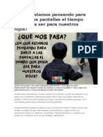 TALLER PARA PADRES DE FAMILIA