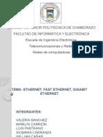 Diapositivas Ethernet Redes Grupo 7