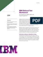IBM Rational Test Workbench