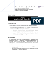 Plan Auditoria Informatica