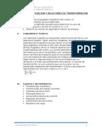 Curva de Magnetizacion y Relaciones de Transformacion (1)