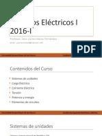 Clase I -Circuitos Eléctricos I