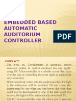 EMBEDDED BASED automatic AUDITORIUM CONTROLLER 0TH REV