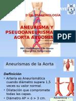Aneurisma y Pseudoaneurisma de La Aorta Abdominal Final