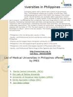 Medicaluniversitiesinphilippinesppt 141008023449 Conversion Gate02
