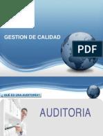 Auditoria - Gestion de la calidad