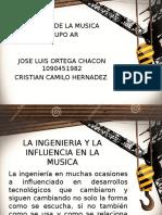 LA INGENIERIA Y LA INFLUENCIA EN LA MUSICA.pptx