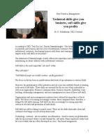 Soft Skills Article