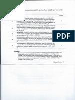 domain d student teaching assessment - tk