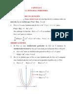 Calculo diferencial - Matemáticas II