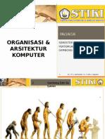 Perkuliahan 2 - Organisasi Dan Arsitektur Komputer
