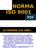 La norma ISO 9001