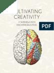 Cultivating Creativity for educators