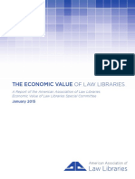 EconomicValue ofLawLibrariesFinalReport