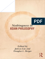 Nothingness in Asian Philosophy byJeeLoo Liu, Douglas Berger