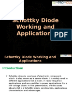 Schottky Diode Working and Applications