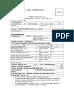 Buletin analiza seminte