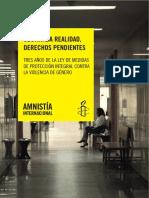 Informe Ley integral de violencia de género