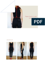 Front and Back Bodice
