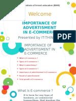 e Commerce advertisment