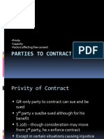 2 Parties to Conract