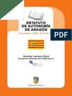 Tema 2 Estatuto Autonomia Aragon Facil