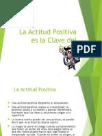 La Actitud Positiva