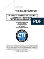 Seawater Feasibility