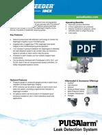 Pulsa Pulsar Series Pulsalarm Specifications