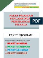 Paket Program Pilkada
