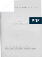 S. Abd Al-latîf - Principles of Islamic Culture
