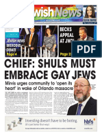 16 June 2016, Jewish News, Issue 955