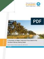 Wfhc Water Trading Pricing Mdb