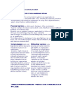 Barriers to Effective Communication2-42