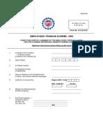 Pf Withdrawal Form