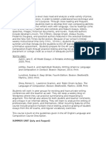 AP Language Syllabus