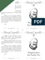 Padre Pio Rugaciune (prayer romanian)
