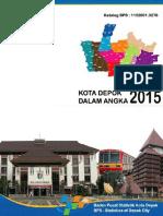 Kota Depok Dalam Angka 2015
